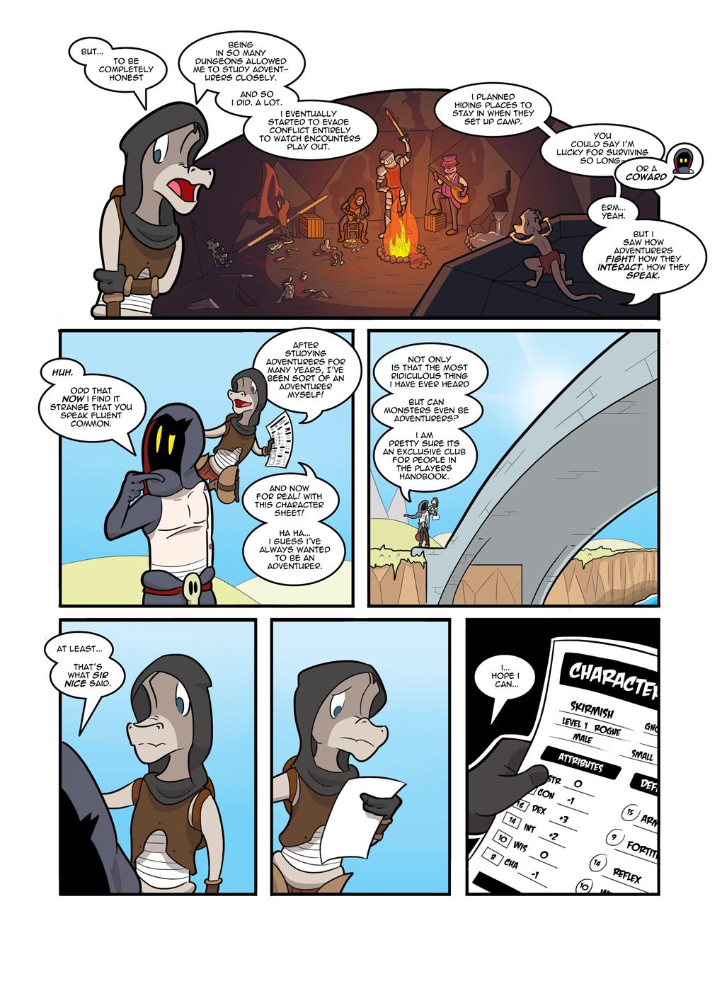 Skirmish's Story